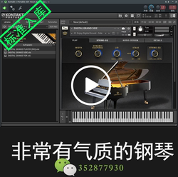 80 C. Bechstein Digital Grand 钢琴音源音色库 支持WIN/MAC