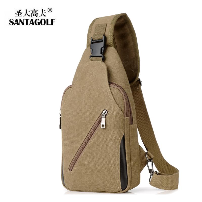 Bag mens chest bag mens straddle Bag Canvas Messenger Bag mens Bag Shoulder Bag Small Backpack hanging bag leisure waist bag