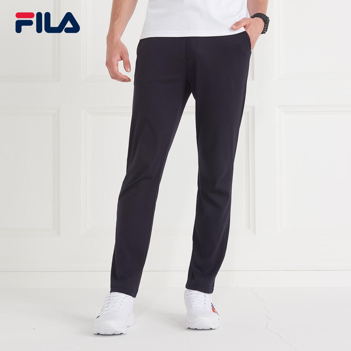 FILA斐乐男2018夏季新款潮运动休闲长裤|F11M821609F