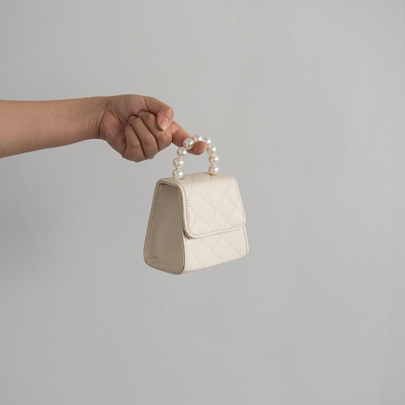 小物商店 超超超小超可爱的一枚迷你珍珠手提斜挎小包包 包邮热销93件不包邮
