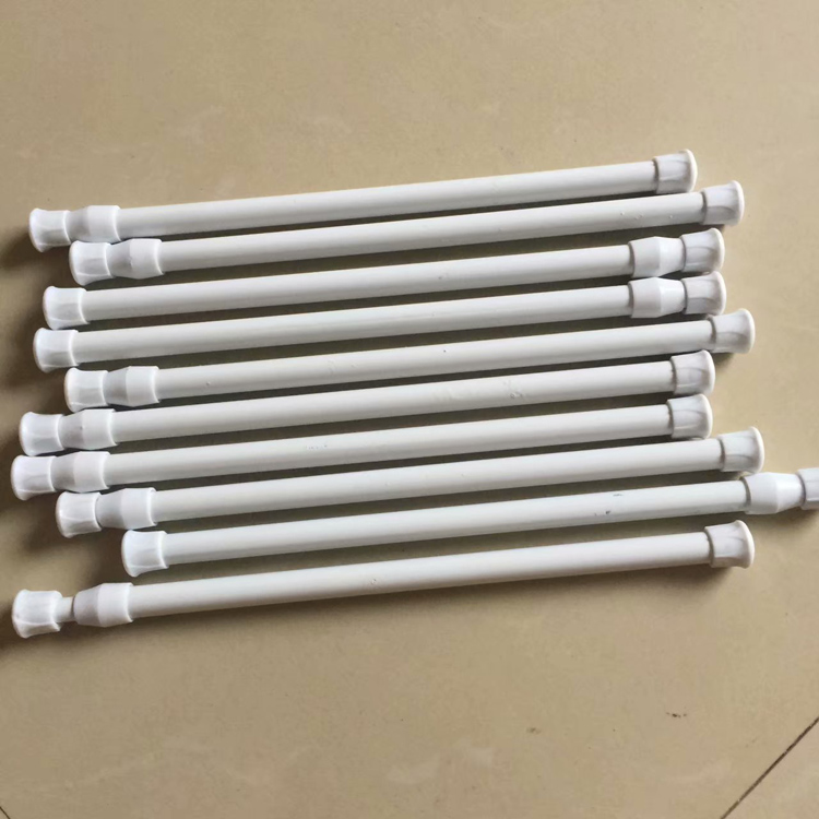 12-03新券浴室浴帘杆门帘杆(瑕疵)铁质伸缩杆