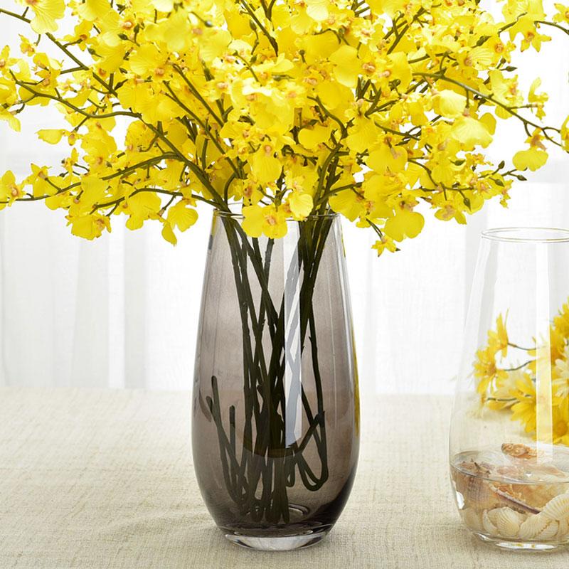 Яйцо динозавра цветок континентальный цвет стекло ваза цветочная композиция прозрачный цветок гостиная обеденный стол ремесла статья украшение