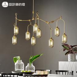 设计师的灯客厅灯具北欧后现代美式艺术创意餐厅卧室铁艺玻璃吊灯