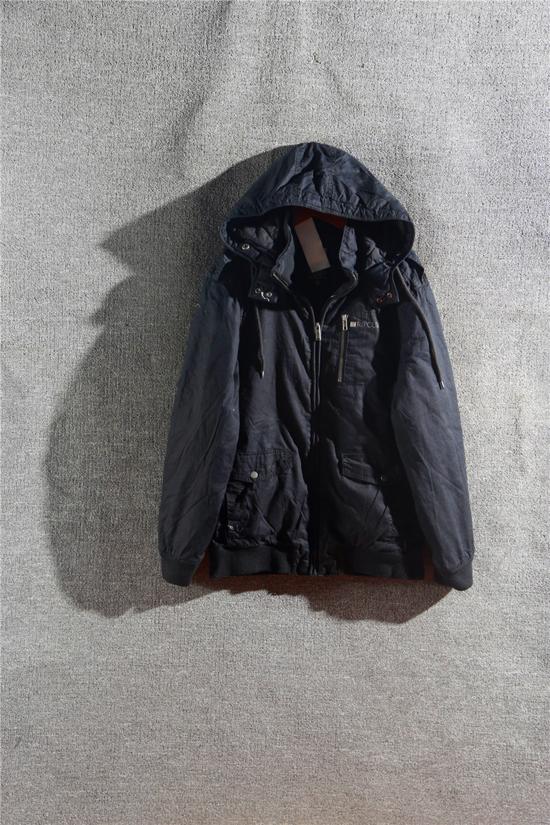Производители осенью мужской повседневный комфорт хлопка мальчик сплошной цвет молнии пальто Kk13