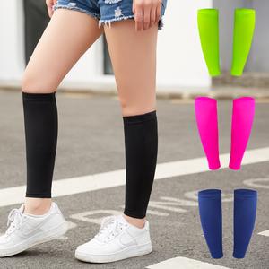 冰丝男篮球马拉松装备袜女套护小腿