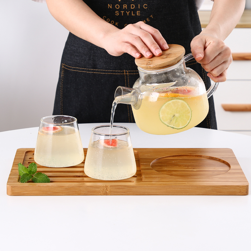 北欧玻璃茶壶套装家用耐高温冷水壶(用3元券)