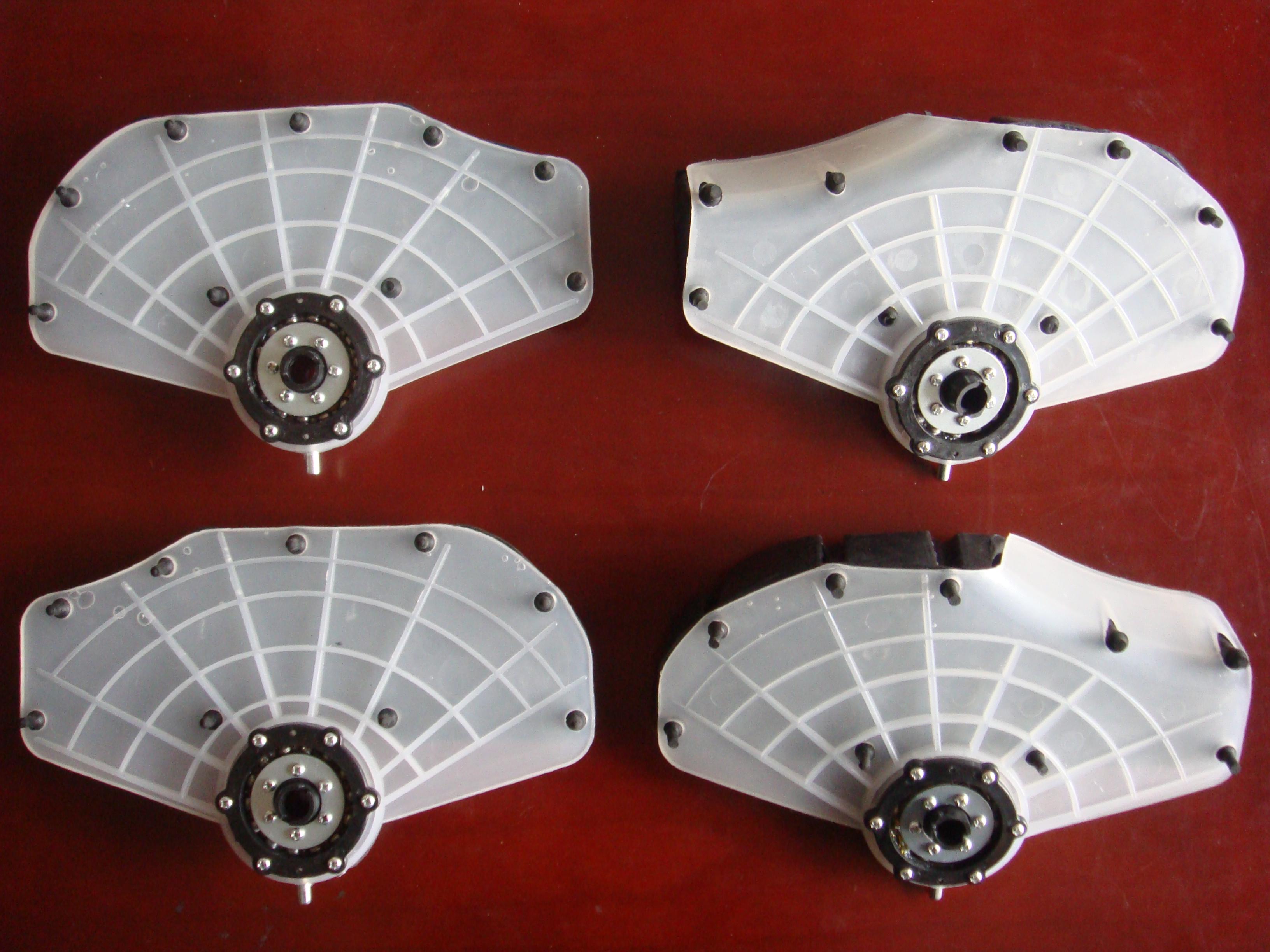 足疗机专用配件三代加热夹板脚板足底按摩器AMZ-03配件通用健尔马