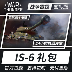 War thunder 战争雷霆 war thunder IS-6 高级包 steam CDK