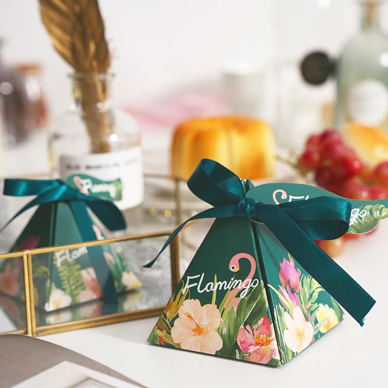 喜糖盒糖果盒结婚创意欧式森系婚礼2019新款喜糖礼盒婚庆用品批发