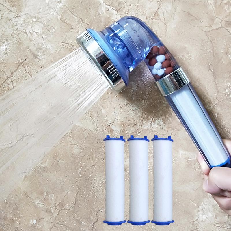Top spray shower filter filter faucet shower shower nozzle pressurization hose high grade ppcotton filter shower head
