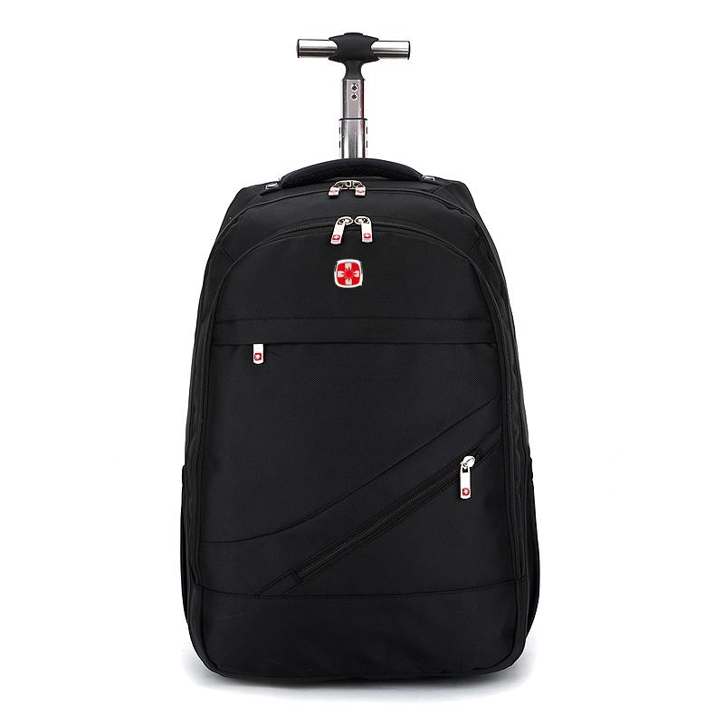 2021新款男女拉杆中学生书包双肩手提旅行商务出差行李背包大容量