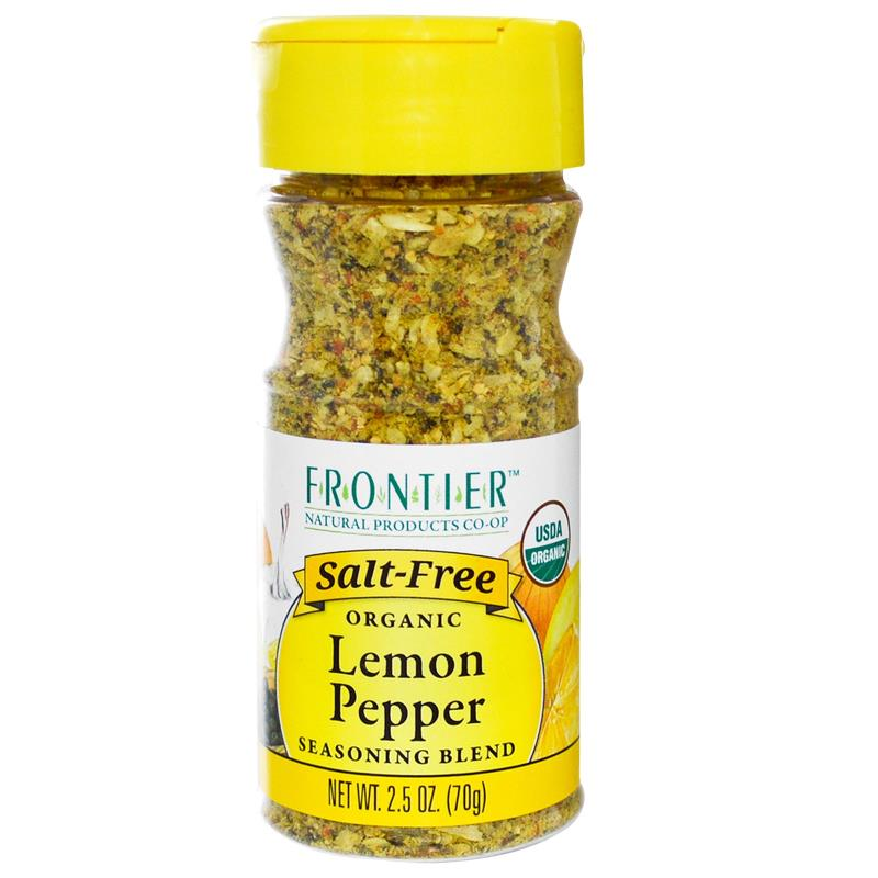 Frontier Natural美国柠檬胡椒调味粉无盐Lemon Pepper Seasoning