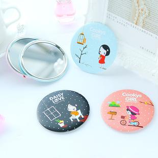韩国甜美可爱迷你便携创意小镜子