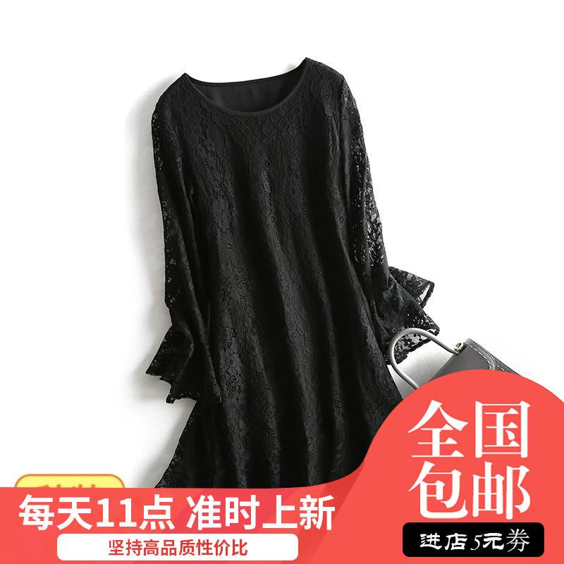 蒂系列●很仙的重工蕾丝2019连衣裙(用5元券)