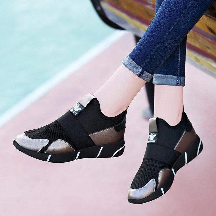 2020夏季新款单鞋女鞋中跟网布交叉绑带系带深口单鞋圆X162/P59