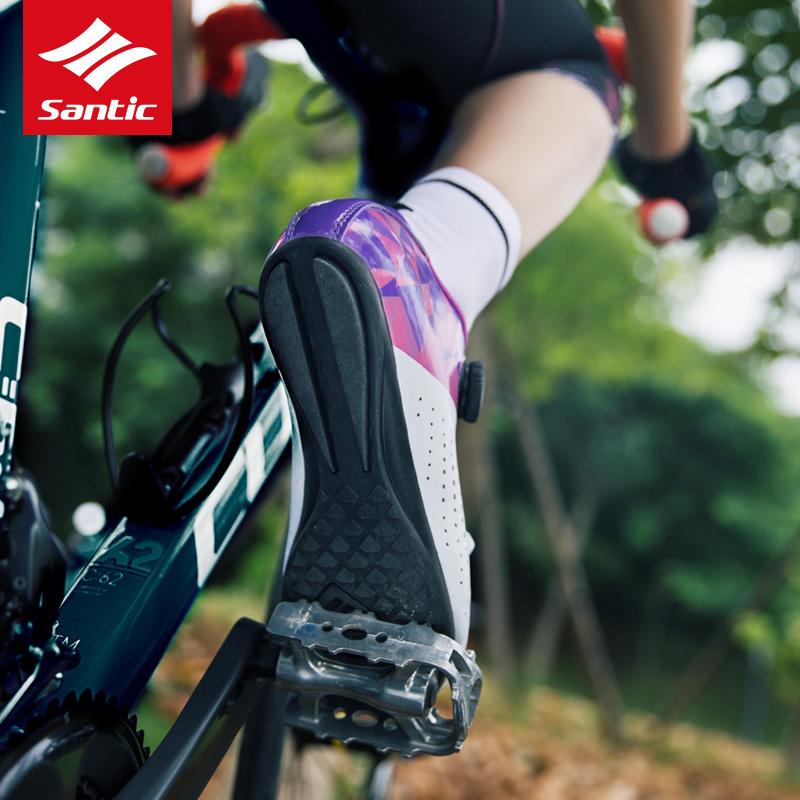 Santic sendike 18 new all terrain no lock riding shoes bicycle no lock shoes leisure Road shoes