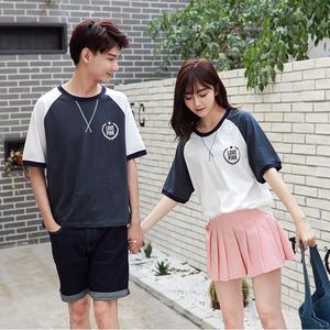 (实拍)3082#情侣装短袖T恤