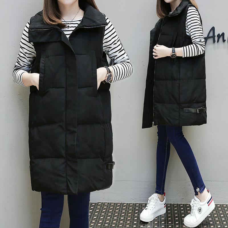 2017 новый беременная женщина зима куртка подбитый пальто длина размер толстый зимний сезон беременная женщина хлопок женщина жилет