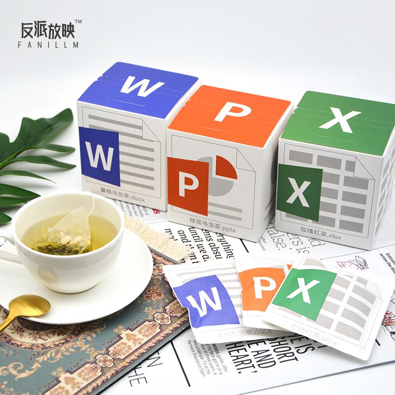 公司创意实用送同事员工生日礼物 办公室奖品新年福利花茶手办