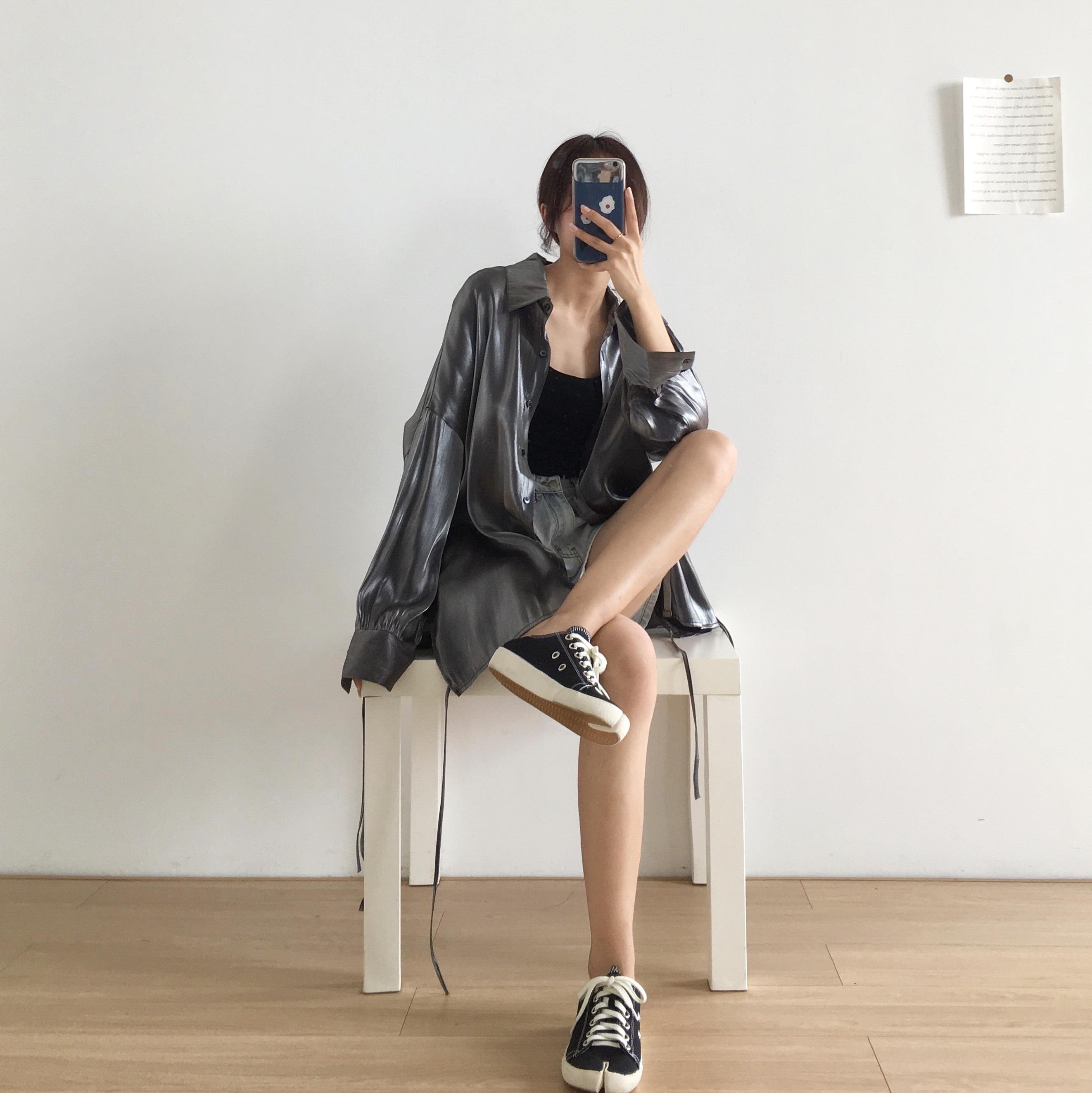su夏季防晒光泽感人鱼姬绑带衬衫12月10日最新优惠