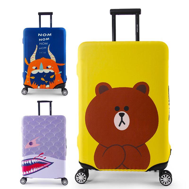 行李箱保套箱套20旅行箱套28防尘罩24寸弹力加厚耐磨护套皮箱拉杆