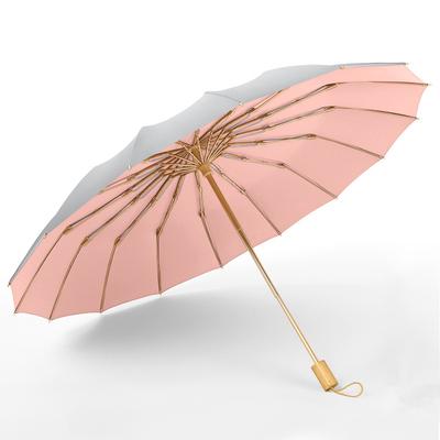 日式折叠古风晴雨伞两用男女加固抗风大号雨伞防晒防紫外线太阳伞