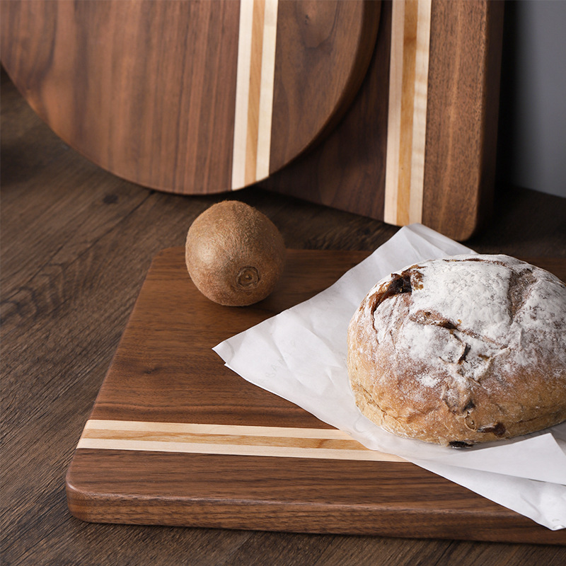11月07日最新优惠『拾光』胡桃木菜板面包板砧板