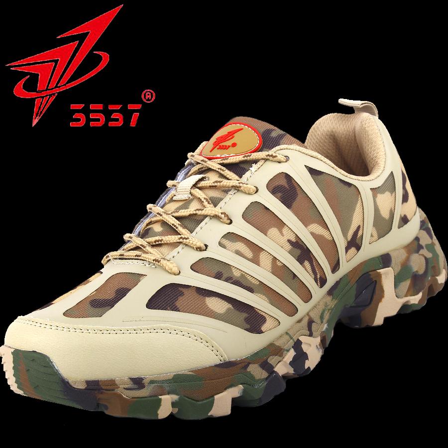 包邮春秋军靴男超轻作战作训陆战特种登山战术跑步透气鞋兵迷彩鞋
