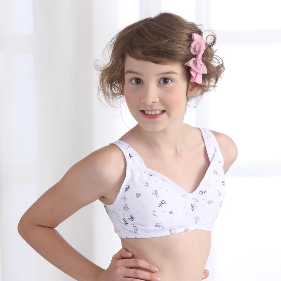 Only Louis Girls Bra Cotton Women Underwear Big Boy Child -8729
