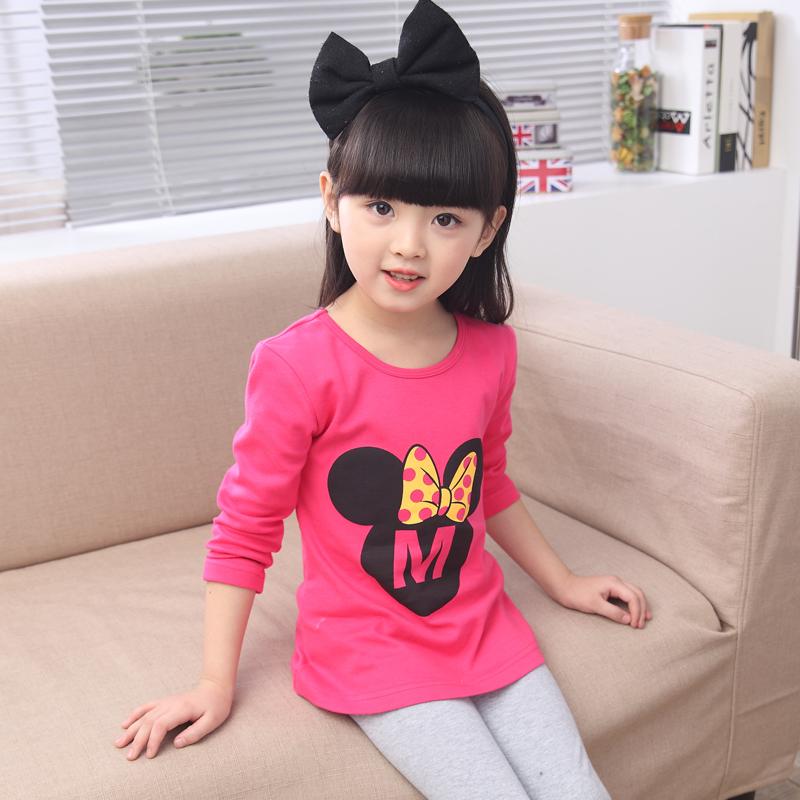 2016女童秋裝套裝 純棉家居服兩件套 兒童 套裝