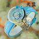 | Цена 441  руб  | Новогодний подарок подлинный ребенок часы девушка корейской моды милые KT кошка учеников