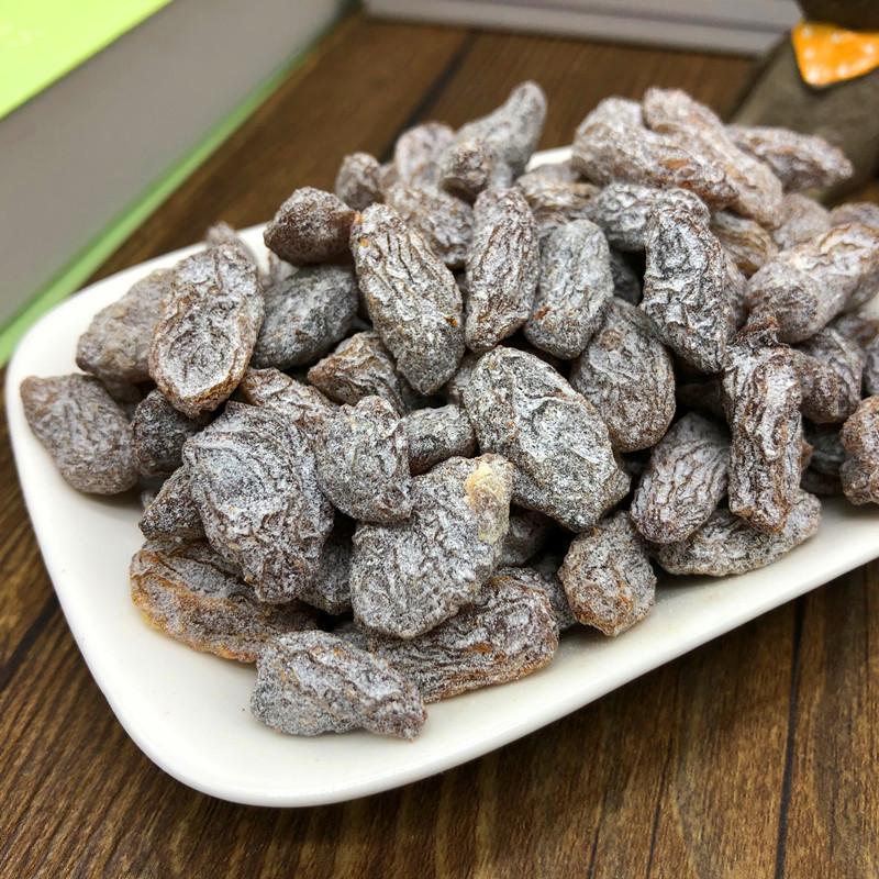 无籽盐津葡萄干500g*2袋散装提子干果脯果干蜜饯新疆休闲零食小吃