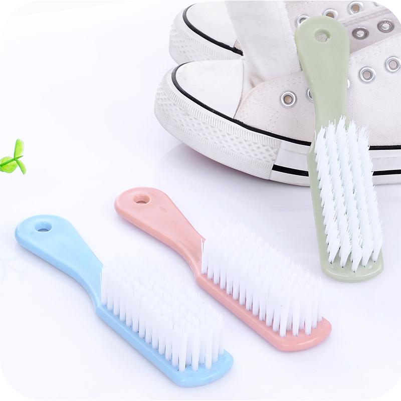 Домой простой пластик маленькая щеточка детская обувь сын очистка щеткой мех мыть обувной щетка обеззараживание прачечная щетка одежда мыть щетка