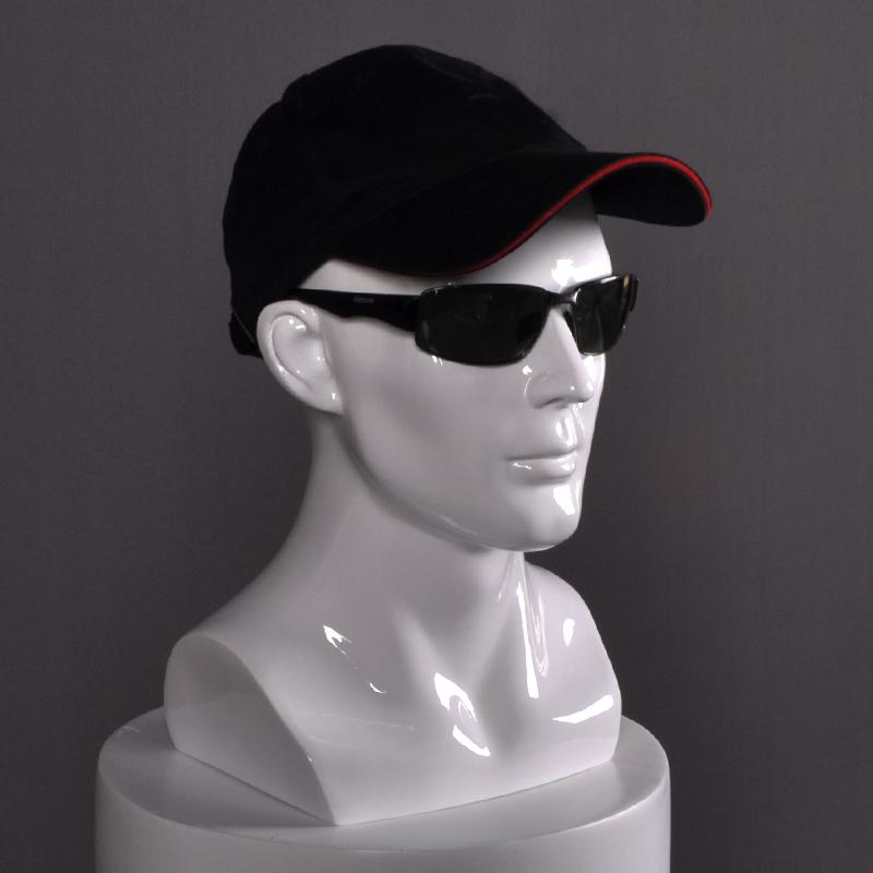 眼镜帽子vr展示模特道具头人头模型