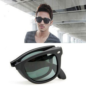 Star style ray 4105 folding Sunglasses toad glasses sunglasses men's and women's authentic European and American Retro