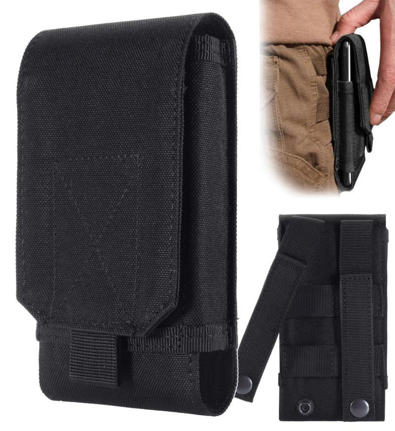 Наружная тактическая талия пакет Телефон для хранения сумки пакет 5.5 6-дюймовый корпус мобильного телефона MOLLE пакет Многофункциональный аксессуар EDC