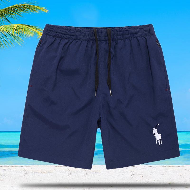 (用88.1元券)polo短裤男三分裤保罗沙滩裤超薄大码运动短裤夏季休闲裤宽松速干