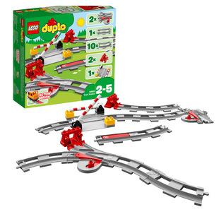 正品現貨 樂高LEGO Duplo得寶大顆粒 10882 火車軌道