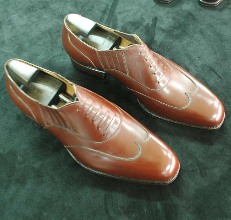 固特异半定制男鞋 牛津鞋商务办公日常正装皮底皮鞋Goodyear-