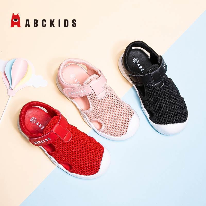 11月18日最新优惠abckids儿童包头2019夏季男童童鞋