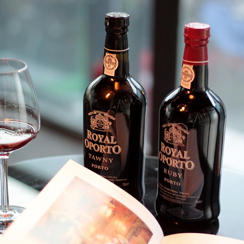 葡萄牙老牌酒厂 宝石红波特酒 加强型甜酒 睡前