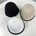 韩国东大门代购2021新款纯色水桶显瘦遮阳帽子女夏天透气草帽防晒