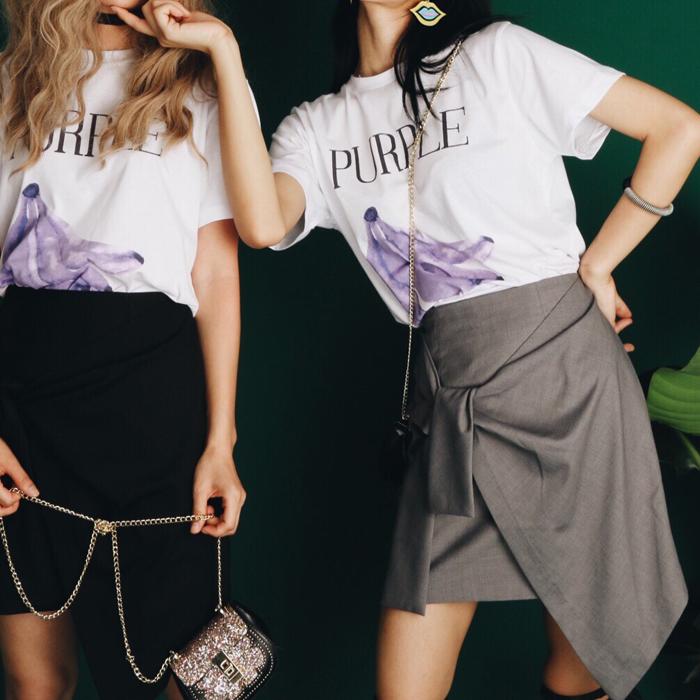 Suit skirt 2018 new womens summer irregular tie knot slim and versatile skirt