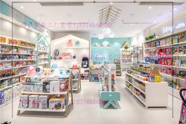 定制母婴店烤漆展示柜玩具奶粉陈列高柜孕妇服装货架儿童装中岛台