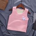 秋冬宝宝保暖背心加绒内穿婴儿针织加厚保暖马甲幼儿针织毛线坎肩