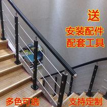 陽臺護欄欄桿樓梯扶手圍欄現代簡約實木PVC歐式家用別墅鐵藝簡易