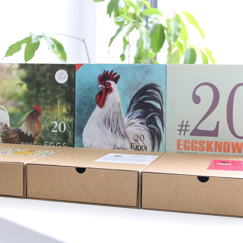 20/30枚鸡蛋盒包装盒礼盒土鸡蛋礼品盒牛皮纸箱定做盒子创意定制