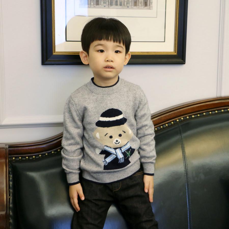 男童毛衣套头2020秋冬新款儿童羊绒衫中大童厚宝宝羊毛衫针织童装
