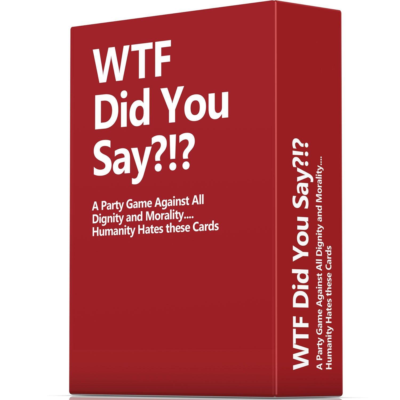 英文版欧美热卖卡牌游戏 畅销桌游 wtf did you say聚会游戏