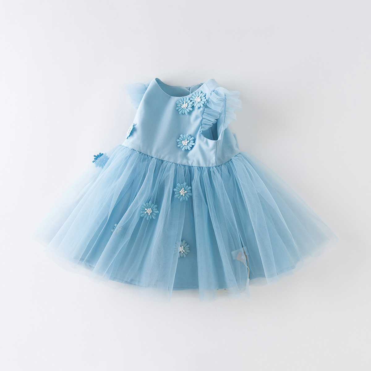 Davi Bella children's summer dress girl new dress girl baby princess dress children skirt inert clothes